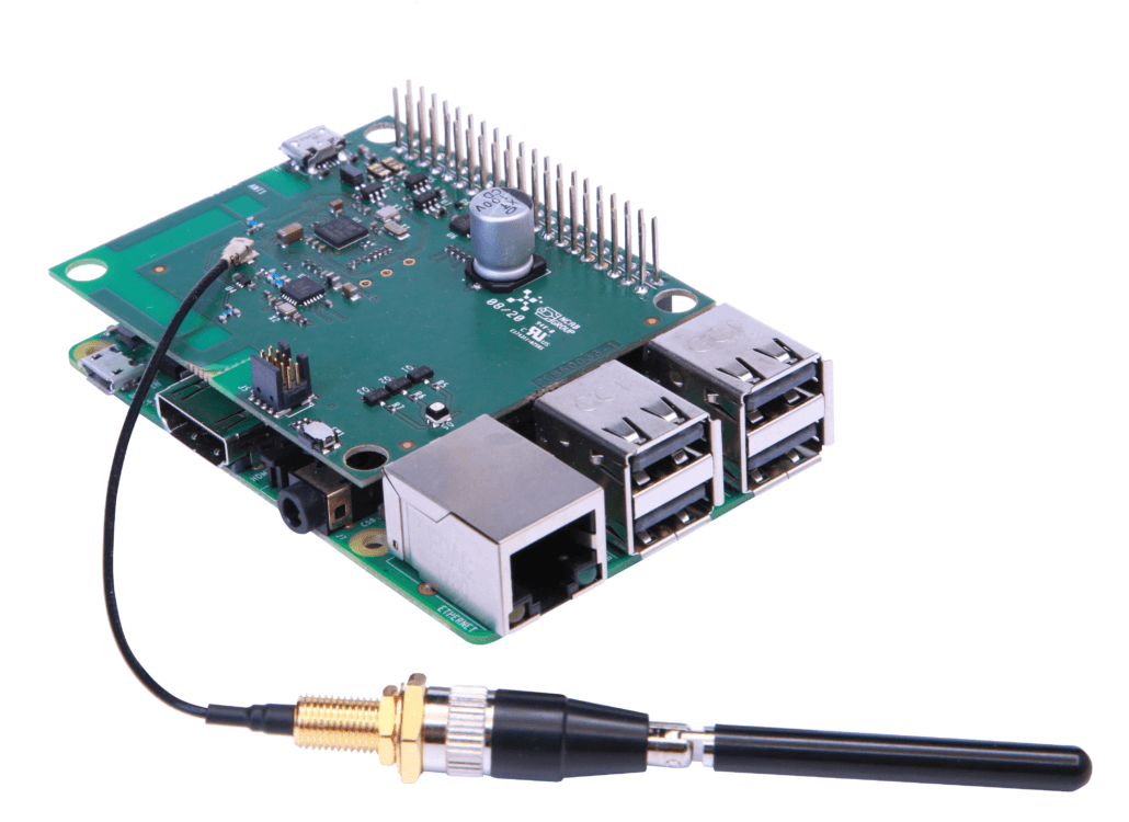 2.4 GHz LoRa Communication for Drones4Energy